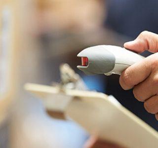 Scanner ottico per magazzino